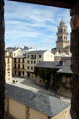 Ponferrada From The Castle (Alan1954) Tags: ponferrada forteleza castle frame framed spain holiday 2017
