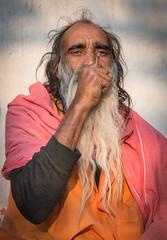 Rajasthan - Pushkar - Outskirts Holy Man-3