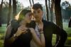 DSC_0607 (Santos98___) Tags: pareja arbol bosque negro blanco marron verde campo duo pelo vaquero jean denim pantalon cuero contraluz