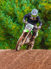 80cc Over the Jump (John Kocijanski) Tags: motocross motorcycle vehicle dirtbike rider race sport people canon70300mmllens canon7d