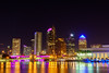 Downtown Tampa at Night (pdebree) Tags: tampa bay tampabay florida city skyline skyscape skyscraper skyscrapers night nighttime photography nightphotography long exposure longexposure color colorful downtown downtowntampa water ocean sea bridge bridges tall buildings building tallbuilding tallbuildings sony sonyimages sonyalpha sonya6000 a6000 selp18105g
