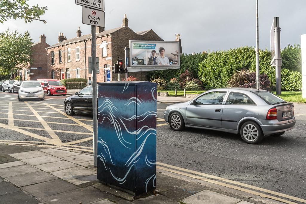 PAINT A BOX STREET ART ON BERKELEY ROAD IN DUBLIN [DUBLIN CANVAS PROGRAMME 2017]-132986