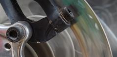 20171016_8960_7D2-70 Spinning Bike wheel (289/365) (johnstewartnz) Tags: canon canonapsc apsc eos 7d2 7dmarkii 7d canon7dmarkii canoneos7dmkii 2470 2470mm onephotoaday oneaday onephotoaday2017 project365 365project bike cycle wheel discbrake spinning slowshutterspeed 100canon unlimitedphotos yabbadabbadoo yabbadabadoo