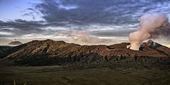 impressive to see our Earth living (i.v.a.n.k.a) Tags: ivanahesova ivanadorn sonyalpha volcanoes volcano active indonesia java semeru bromo gunung tengger caldera eruption steam landscape