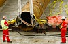 Riggers prepare remote releasing subsea shackles (d.styles.images) Tags: heavylift shackle merchantnavy rigger offshore oilandgas maritime seaman seamanship sailor subsea subseaconstruction rigging pipe deepsea