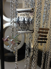 Fairy Tale necklaces (stacyinil) Tags: crafts jewelry fairy tale necklaces