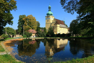 Kostel sv. Prokopa, Přepychy, Czech republic