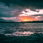 Sunset in Lough Leane - Killarney, Ireland - Travel photography thumbnail