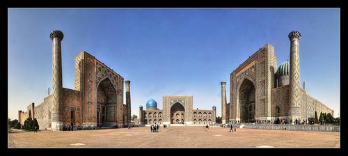 Samarqand UZ - Registan
