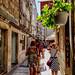 Walking the streets of Split Croatia