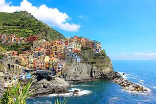 Manarola, Liguria. Clichéd but awesomely beautiful.