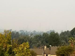 Smoke over Martinez, Wednesday