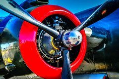 Red is the Color my Baby Wore (CORDAN) Tags: cordan dmyers 2017 collinsfoundation wingsoffreedom nikond500 red airplane b25mitchell nikkor1755mm