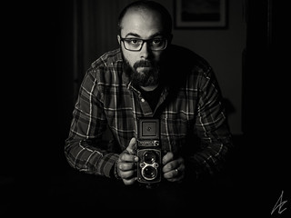 Me and the Yashica Mat 124