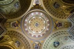 VERTIGO (krisztian brego) Tags: olympus omd em1 mzuiko digital 714mm f28 pro budapest st stephens basilica szent istván bazilika dome kupola architecture building interior