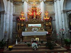The relics of Santa Lucia, Chiesa di San Geremia, Venice