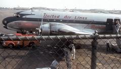 Chicago Municipal Airport - United Air Lines - DC-4 (twa1049g) Tags: chicago midway airport united air lines airlines douglas dc4 c54b 1949 n30047 crash
