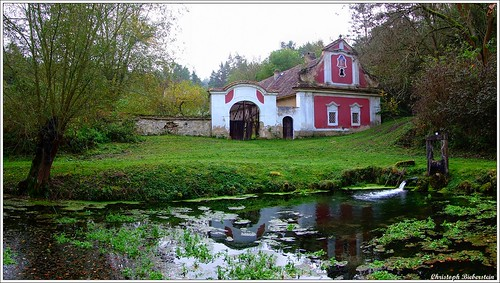 Die Debeř-Mühle unter Perutz