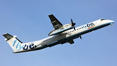 G-JECJ (AnDyMHoLdEn) Tags: flybe bombardier dash8 egcc airport manchester manchesterairport 23l