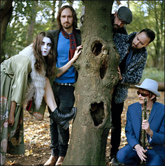 wolf suit (generalzorn) Tags: wolfsuit bronicasqa kodakportra400 80mm film band portrait music coombeabbey