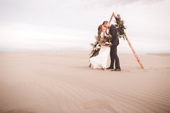 (KieraJo) Tags: canonef24mmf14liiusm l bokeh lens canon 5d mark 3 iii 5d3 fullframe dslr utah logan cache valley photographer photographers beautiful portrait photography couple engagement love engagements marriage couples st anthony sand dunes idaho sunset bouquet sky frame florals styled