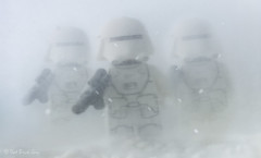 March of the Snow Troopers (that_brick_guy) Tags: minifigures minifigs soldiers soldier imperials imperial darkside side dark primelens lens prime 18g nikkor nikon d7200 dslr photography toy toyphotography snowing snow freezing cold lego legostarwars stormtroopers stormtrooper back strikes empire theempirestrikesback awakens force theforceawakens base starkiller starkillerbase hoth wars star starwars