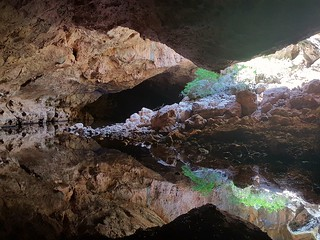 Reflections in Tunnel Creek Cave, Western Australia