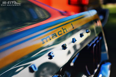 Mach 1 Mirage (Hi-Fi Fotos) Tags: ford mustang mach1 spoiler decal badge vintage american classiccar detail abstract stripe nikkor 1755 28 dx nikon d7200 hififotos hallewell