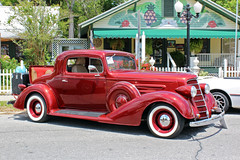 1934 Oldsmobile Coupe, Dunnellon Car Show (StevenM_61) Tags: carshow car automobile oldsmobile coupe rumbleseat 1934 dunnellon florida