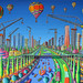 naive art paintings Painting Modern People Sculpture Design Artworks City England