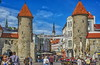 """Tallinn"" City Gate , Old Town, Estonia (Pensioner Percy) Tags: tallinn estonia baltic balticsea stnicholaschurch d7100 nikon cruise po brittania vacation oldtown nikon18140mmlens pensionerpercy tallinncitygate flickr toompea harjucounty"