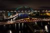 DSC_0427-2-1 (forbesy10) Tags: newcastleupontyne newcastle toon city cityscape night nightsky tynebridge bridge bridges lx longexposure lighttrail lights river