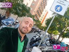 Foto in Pegno n° 2522 (Luca Abete ONEphotoONEday) Tags: isola pedonale area parcheggio divieto napoli scooter cartello avviso me selfie 2522 26 ottobre 2017
