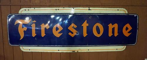 9' Firestone Sign ($952.00)