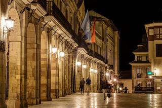 Arquería del Ayuntamiento de Oviedo