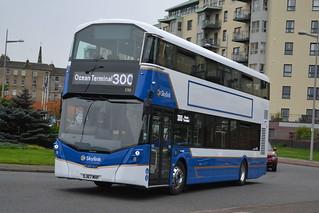 Lothian Buses Volvo B5LH 590 SJ67MHF - Edinburgh