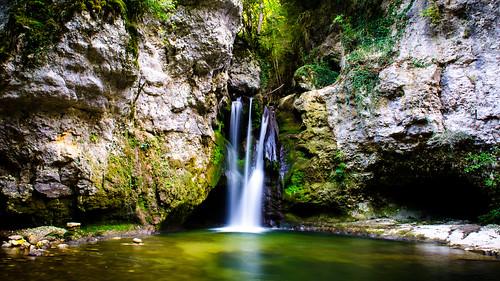 Tine de Conflens - La Sarraz, Switzerland