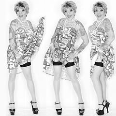 home16134-36bw (Ann Drogyny) Tags: shoes legs heels crossdress crossdresser crossdressing cd tv tg ts transvestite transgender transsexual tranny tgirl glamour pinup mature cute sexy stockings nylons suspenders garters