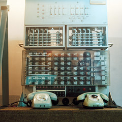 (busy.pochi) Tags: 120 6x6 mcbiometar2880 pentaconsixtl analog argentique film mediumfomat moyenformat pellicule computer museum フィルム vintage reflex slr kodakportra800 square