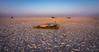 Sunrise on Makgadikgadi Pans (NettyA) Tags: 2017 africa botswana makgadikgadibasin menoakwena ntwetwepan saltpan sky sunrise travel shadow camping