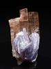 Lepidolite on Elbaite (Stan Celestian) Tags: nhmla55449 elbaite lepidolite