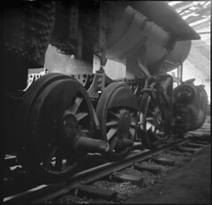 Engine No. 23, 2-8-0, steam locomotive, 1910 (Sergei Prischep) Tags: f35 skopar fuji neopan acros100 d76 engine23 280 steamlocomotive film 120 voigtländer superb 6x6 voigtländersuperb