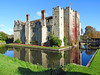 Hever Castle, Kent (Linda 2409) Tags: castle moat bridge drawbridge reflection