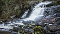 Waterfalls in Muskoka Ontario (twohamstersca) Tags: waterfalls muskoka ontario canada fall autumn canon5d