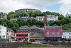 Oban - McCaig's Tower and Distillery (♥ Annieta ) Tags: annieta juli 2017 sony a6000 holiday vakantie england scotland uk greatbritain oban city ville stad distillery collosseum mccaigstower allrightsreserved usingthispicturewithoutpermissionisillegal