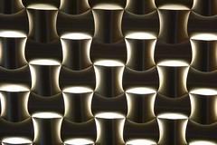 Hotel Backdrop Lighting (unclebobjim) Tags: oslo oslooperahotel receptionarea pattern lighting
