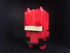 Brickheadz Daredevil (frantises) Tags: lego brickheadz daredevil