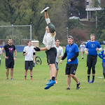 "<b>Alumni Ultimate Frisbee</b><br/> Homecoming 2017 Men's Ultimate Frisbee Alumni game. Photo by Rachel Miller '18<a href=""http://farm5.static.flickr.com/4489/23889538208_337b5c46bd_o.jpg"" title=""High res"">∝</a>"