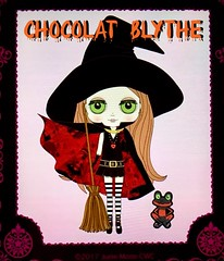 "Straaange December release? ""Chocolat Blythe"". It's a colab from a popular witch anime. Would have been better to have Musical Trench in December and this in October, I think. Probably a deadline issue."