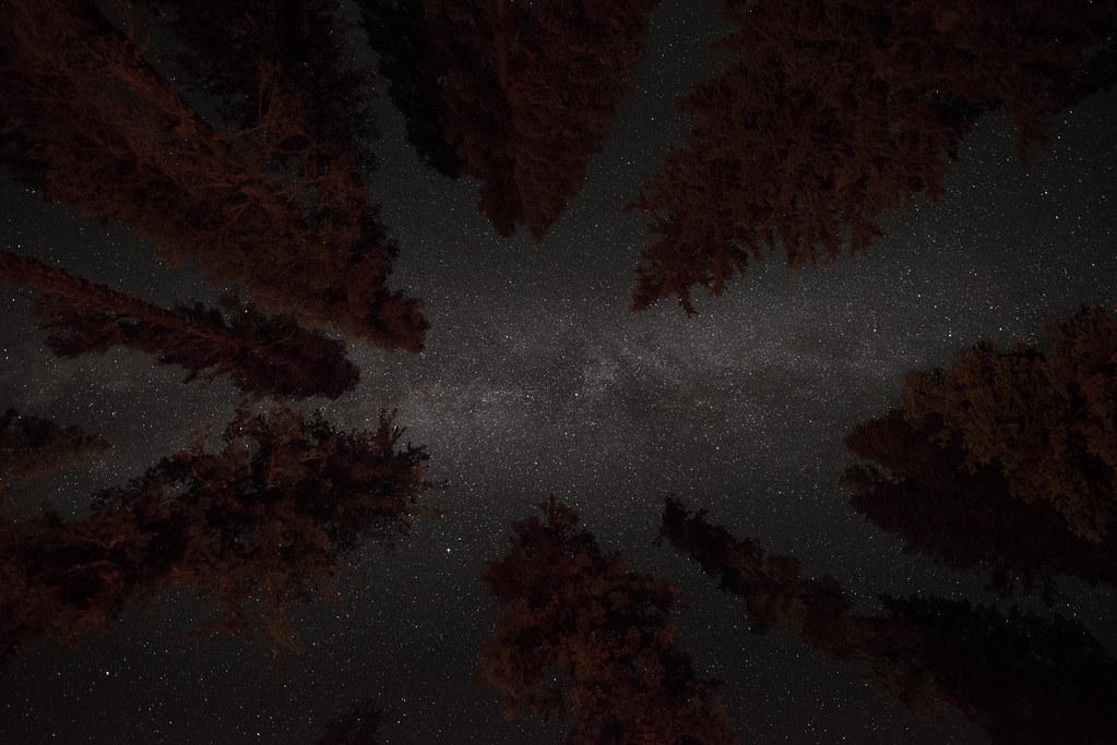 Lassen Milky Way